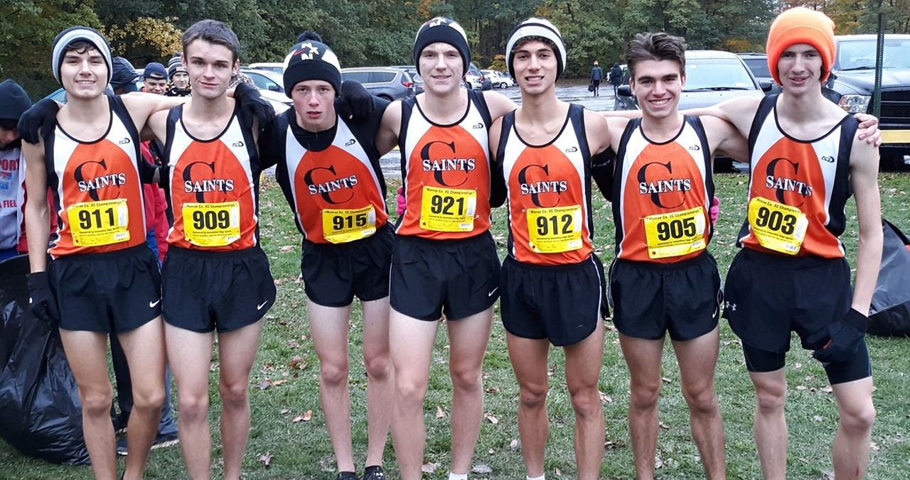 Boys XCountry team